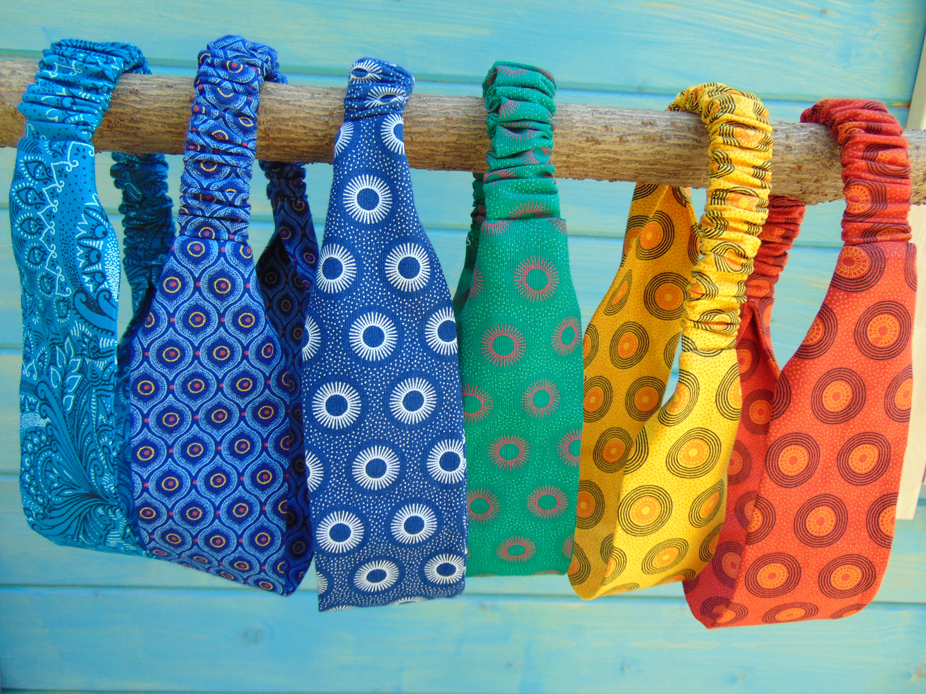 Colourful Headbands - African Print -ShweShwe